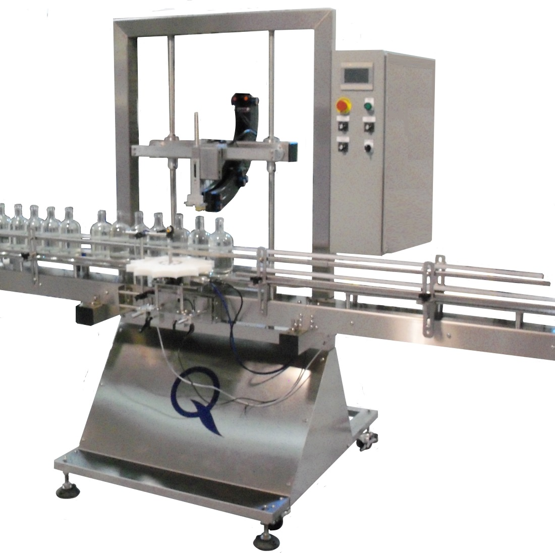 Semi-Automatic Full Frame Bottle Corker for Distilled Spirits