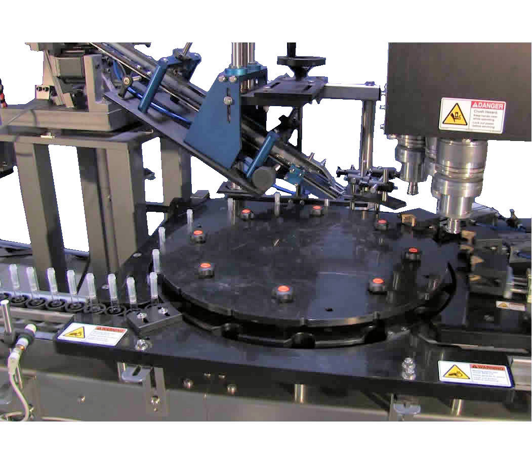 Automatic Chuck Capping Machine - Multiple Heads