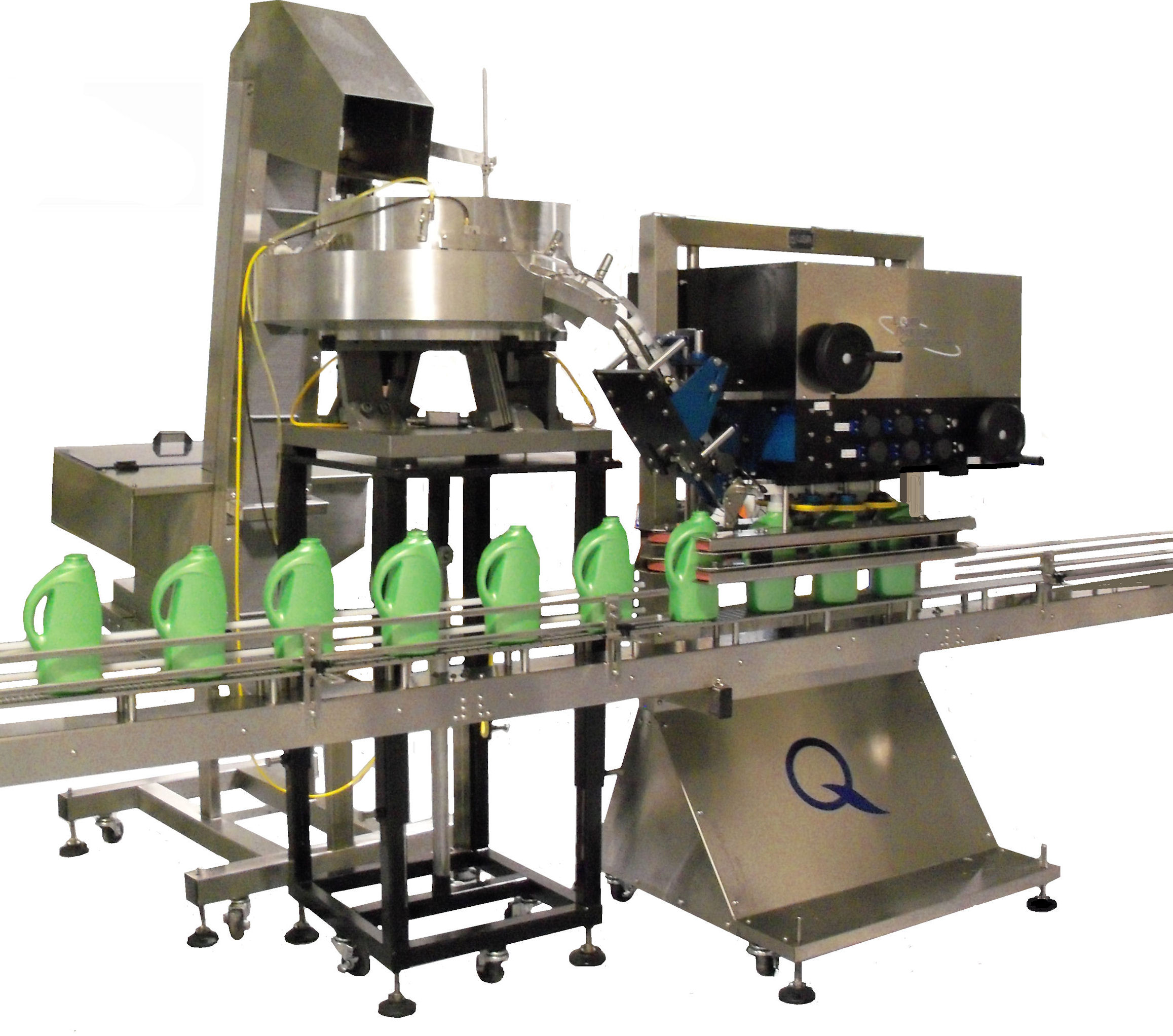 Automatic Capping Machine Spindle Capper By Liquid