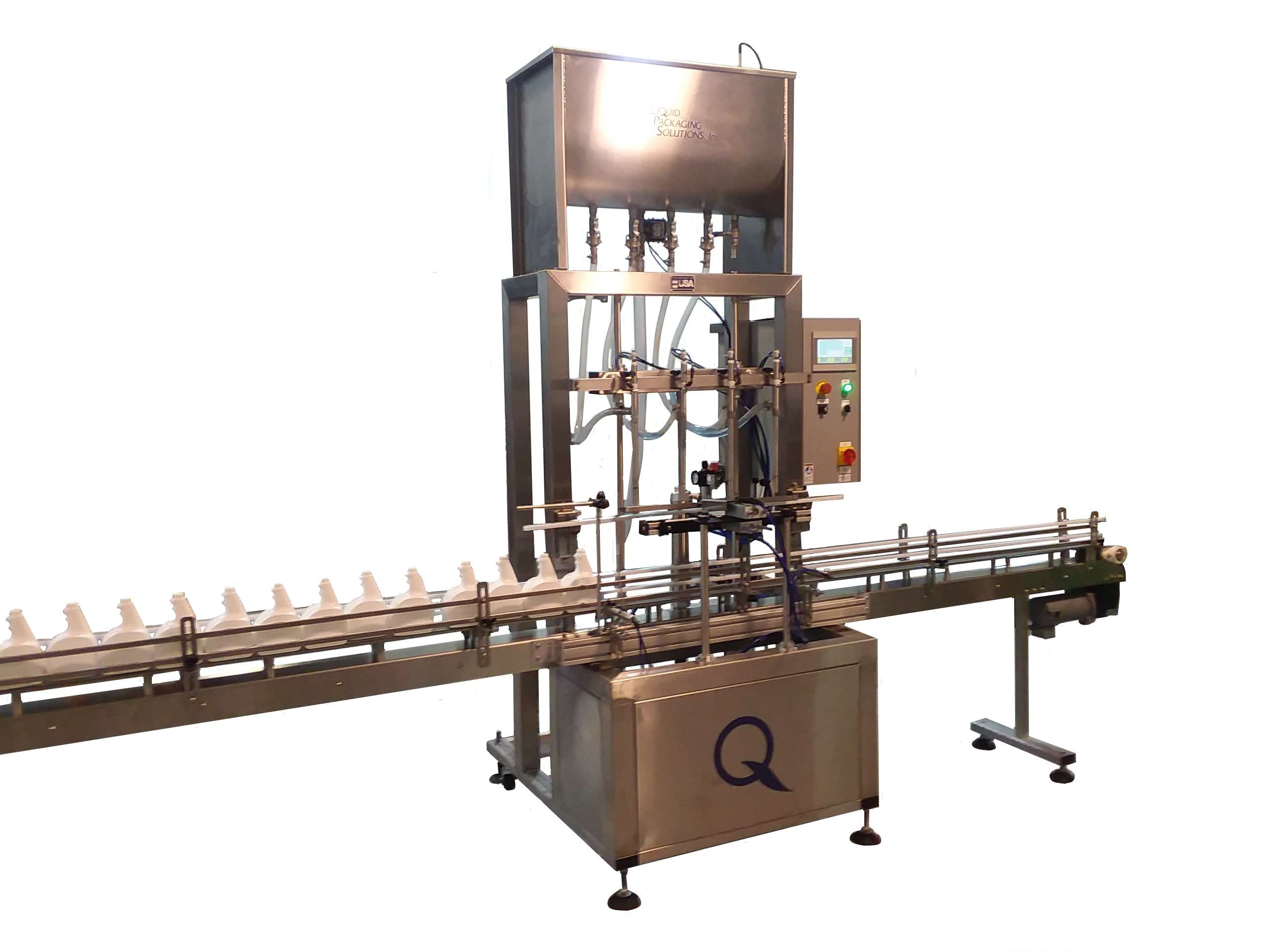 Automatic Filling Machine Gravity Filler By Liquid