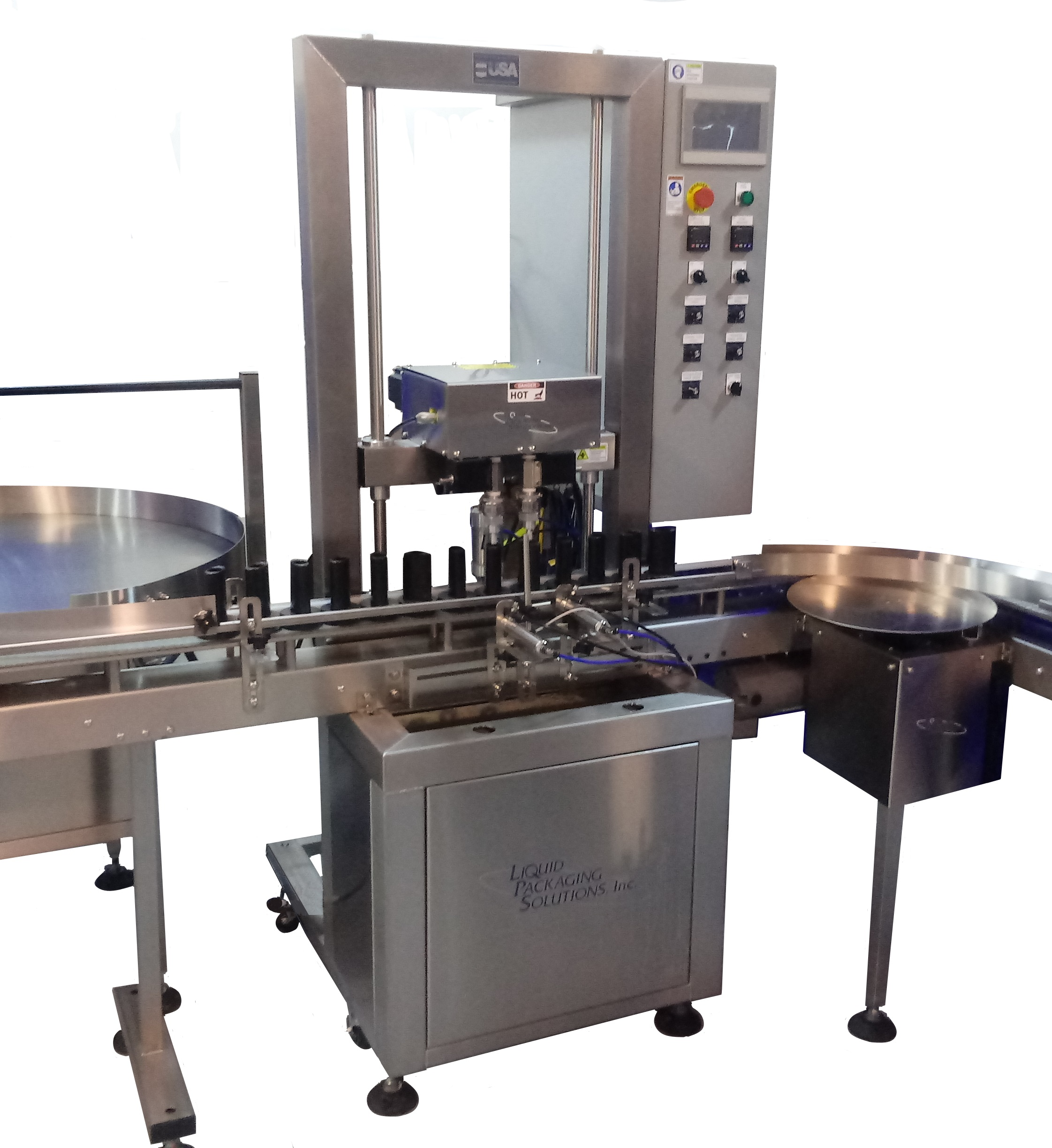 Automatic Molten Filling Machine from Liquid Packaging Solutions