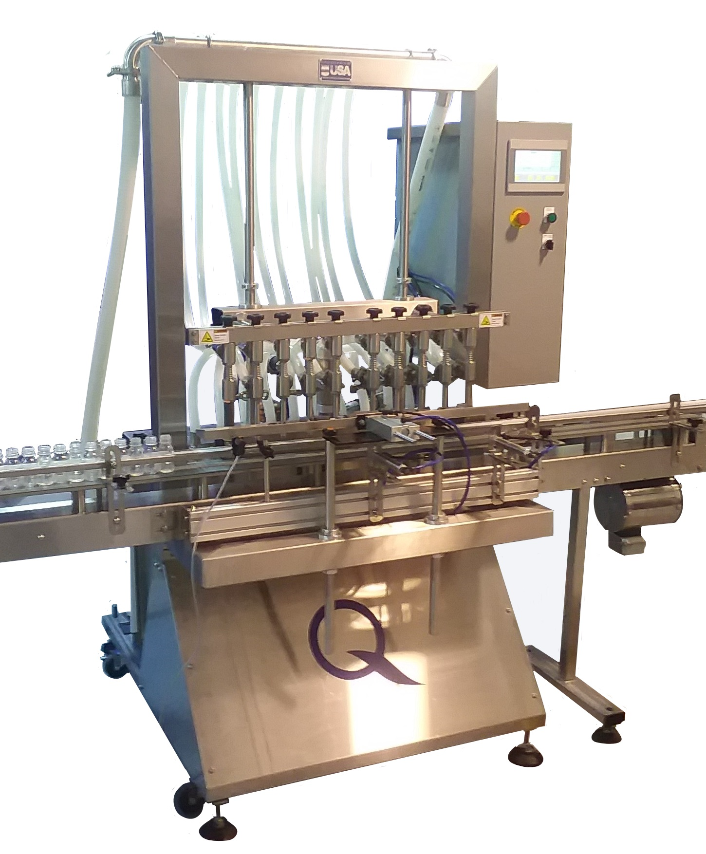 Automatic Filling Machine Overflow Filler By Liquid