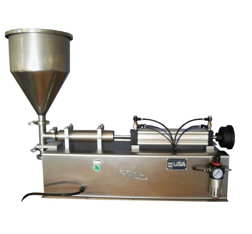 tabletop filling machine piston filler by liquid packaging solutions. Black Bedroom Furniture Sets. Home Design Ideas