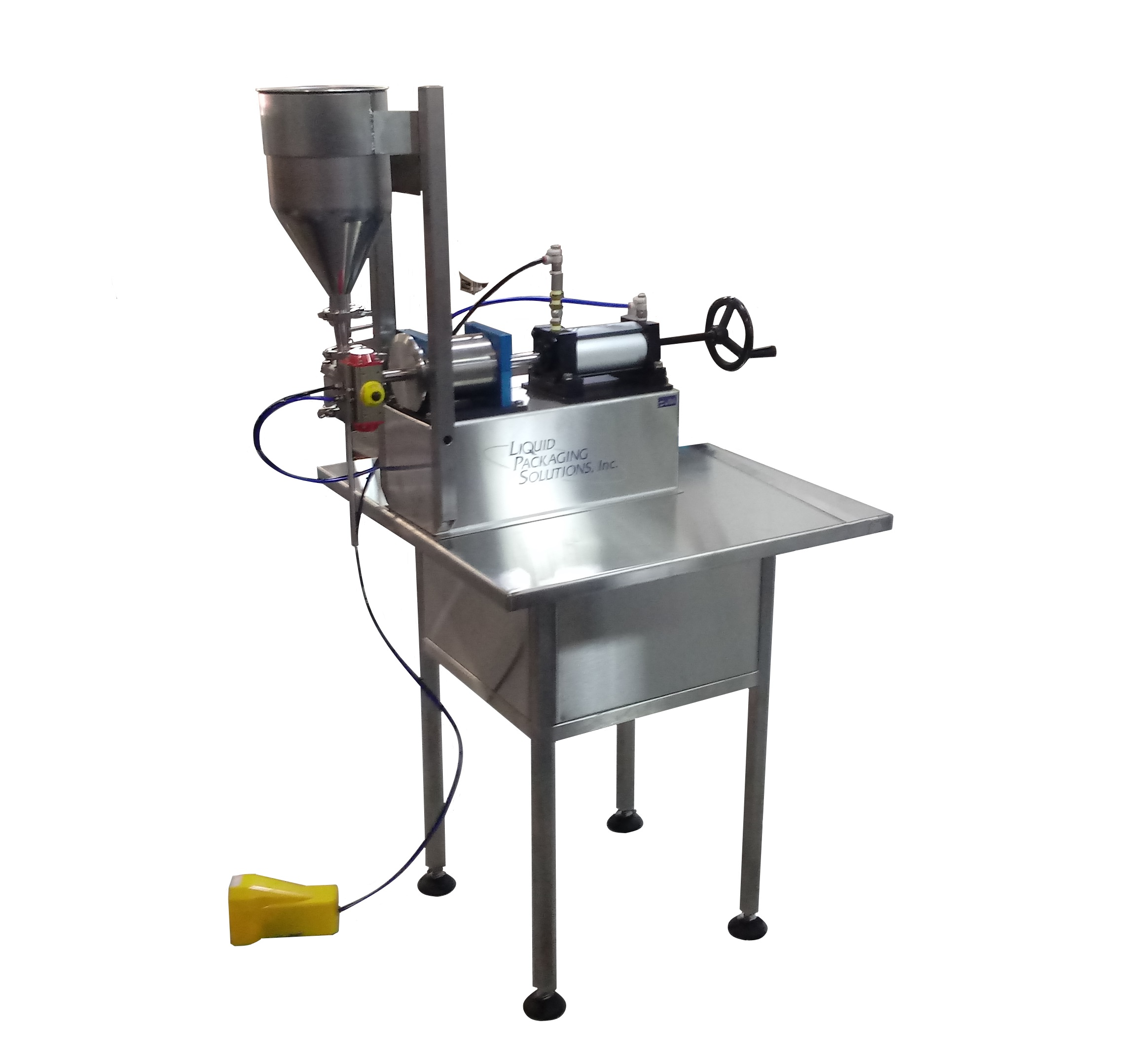 piston filling machines by liquid packaging solutions. Black Bedroom Furniture Sets. Home Design Ideas