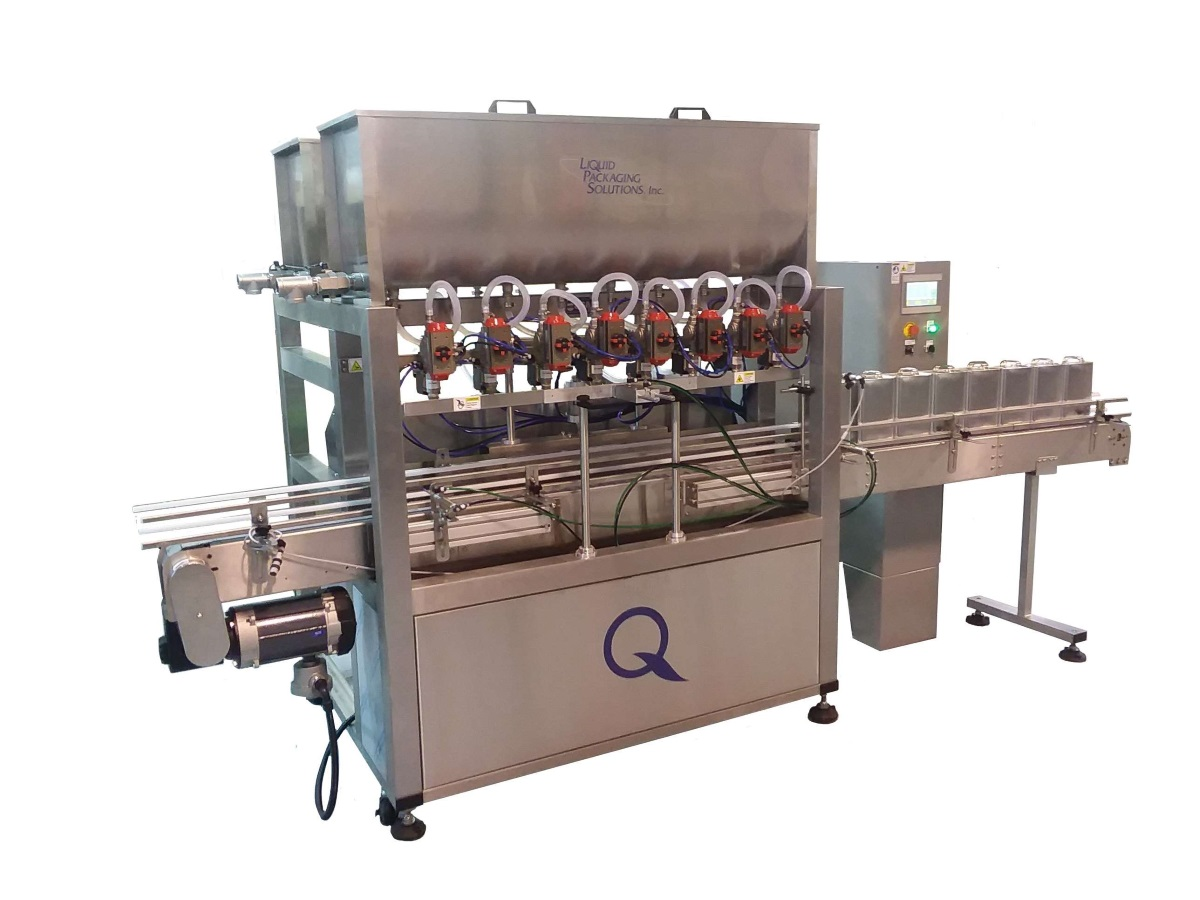 Automatic Pump Filling Machine from Liquid Packaging Solutions
