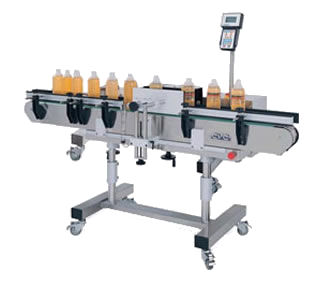 pressure sensitive label machine